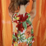 Blouse - Floral - Back